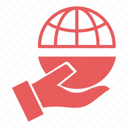 flag, global, globe, marketing, offer, seo, world icon