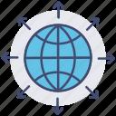 communication, connection, global network, internet, optimization, seo, web icon