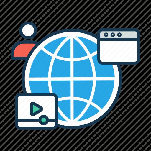 Browsing, digital, internet, marketing, optimization, seo ...