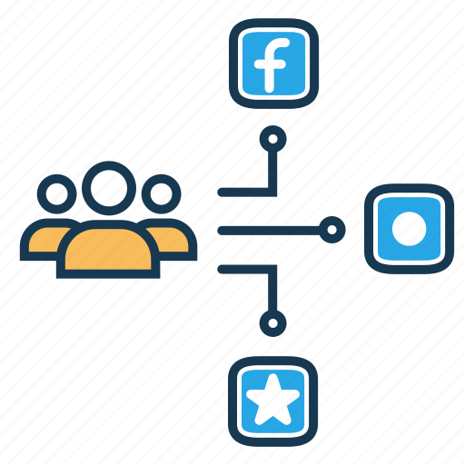 communication, digital marketing, search engine, seo, share, social media icon
