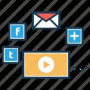 branding, digital marketing, optimization, search engine, seo marketing, social media icon