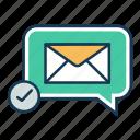 affiliated marketing, chat, communication, emai lmarketing, message, seo, seo marketing icon