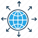 communication, connection, global network, internet, optimization, seo, web icon