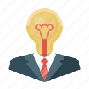 bulb, business, creative, creative idea, design, idea, light icon