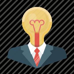 bulb, business, creative, creative idea, design, idea, light icon