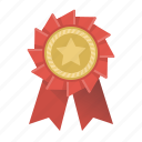 badge, rank, rank badge, award, best, star, trophy