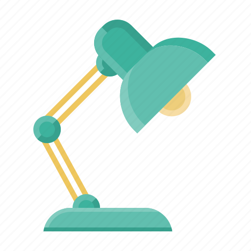 business, job, lamp, marketing, office, table lamp, work icon