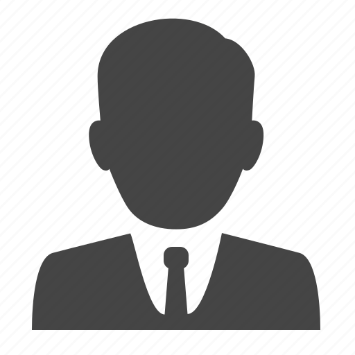 account, avatar, businessman, manager, office man, profile, user icon