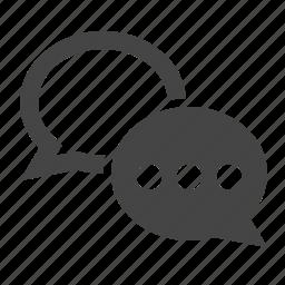 chat bubble, chatting, comment, communication, conversation, messages, talk icon