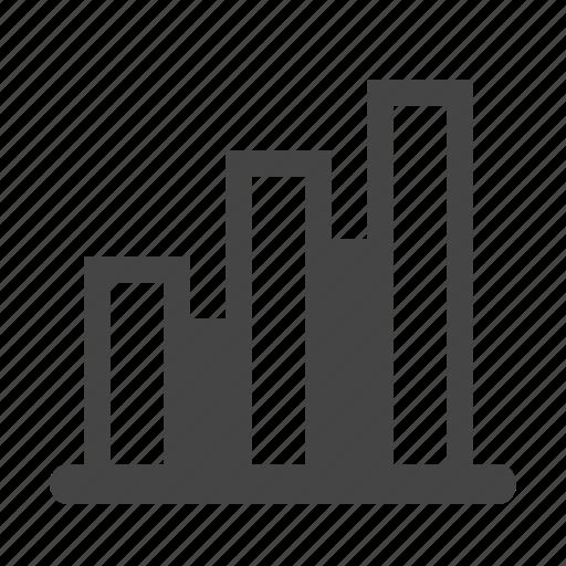 analytics, bar chart, chart, diagram, graph, report, statistics icon