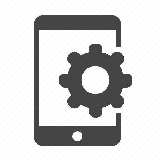 configuration, mobile marketing, phone, settings icon