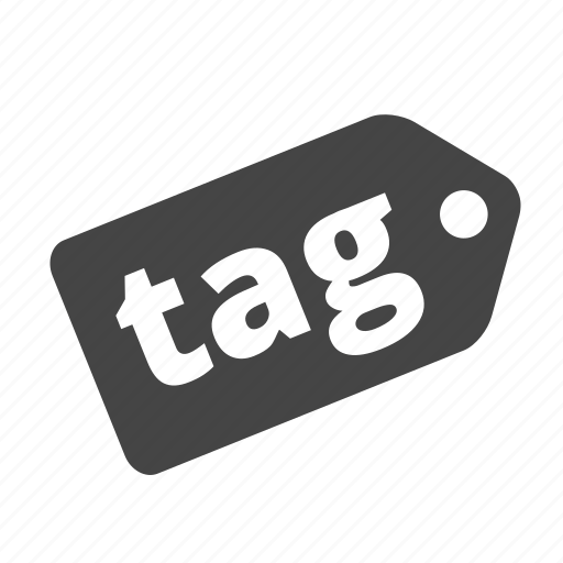badge, category, description, label, mark, tag, title icon