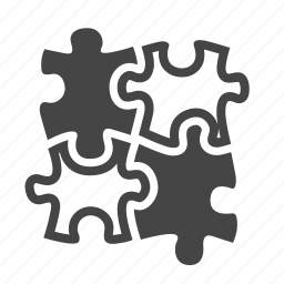 brainstorming, creativity, effective, problem solution, puzzle, strategy, teamwork icon