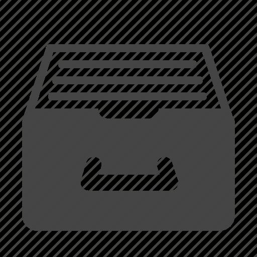 archive, catalog, documentation, folder, library, organize, storage icon