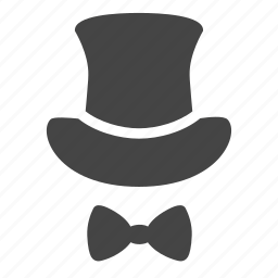 clean slate, credibility, proffecional, quality, respect, top hat, untarnished reputation icon