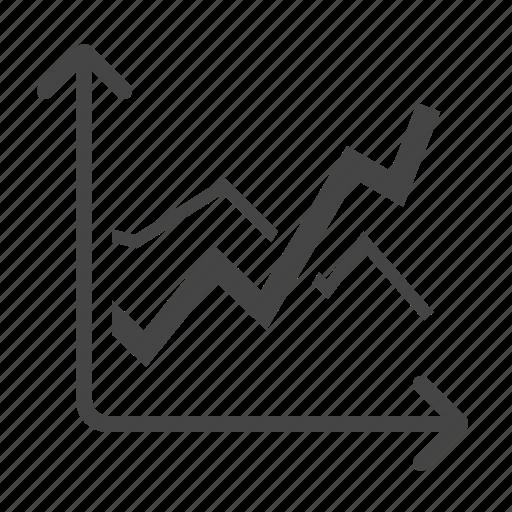 analytics, chart, sales, statistics icon