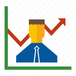 business, finance, graph, management, performance, report, seo icon