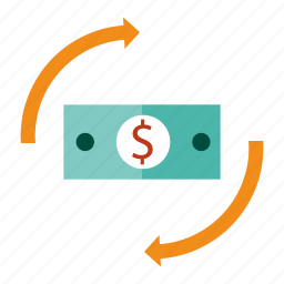 bank, dollar, money, payment, seo, transfer, wire icon
