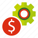 business, dollar, finance, money, payment, seo, web icon