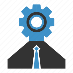 business, settings icon
