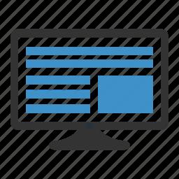 content, management icon