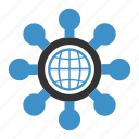 global, organization icon