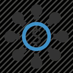 budget, organization icon