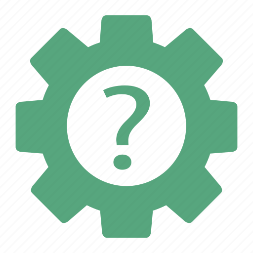 business, gear, options, preferences, question, seo, settings icon