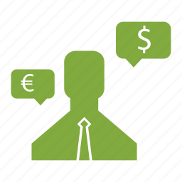 currency, finance, graph, internet, marketing, salesman, seo icon