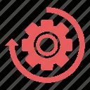 business, history, preferences, seo, setting, settings, tools icon