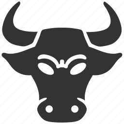 bull, market, mobile marketing, seo icons, seo pack, seo services, web design icon