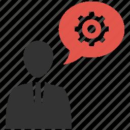human, mobile marketing, seo icons, seo pack, seo services, settings, talk icon