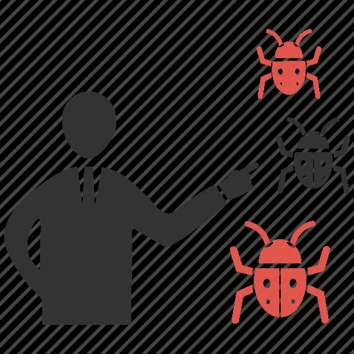 bug, mobile marketing, seo, seo icons, seo pack, seo services, web design icon