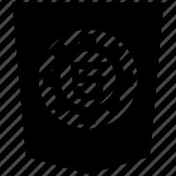 html, impact icon
