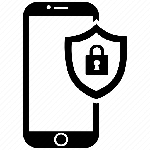 mobile, security icon
