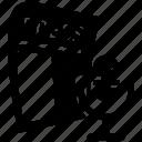 press, release icon