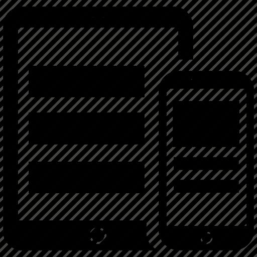 design, responsive icon