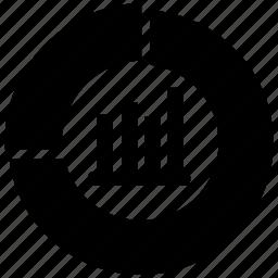 analysis, traffic icon
