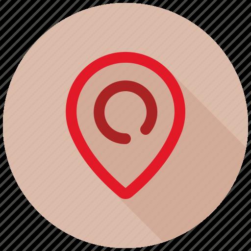 location, seo, seo pack, web design icon