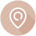 location, seo, seo pack, web design icon