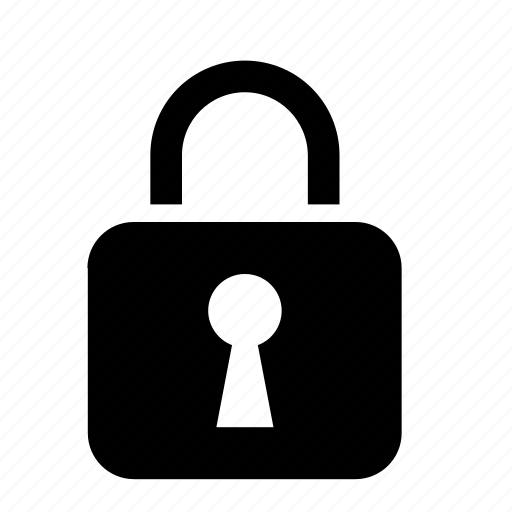 locked, padlock, privacy, protect, protection, secure, security icon