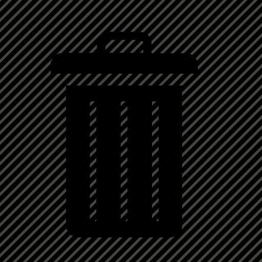 bin, garbage, paper, paperbin icon