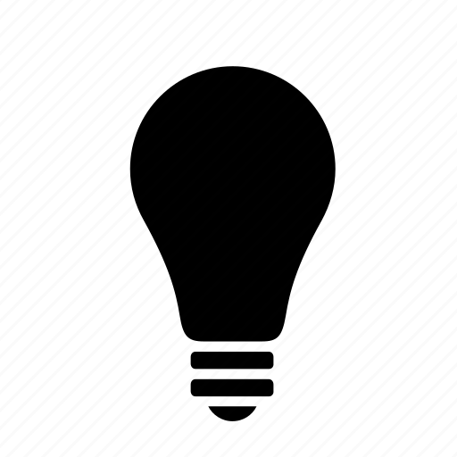 bulb, electricity, idea, lamp, light, lightbulb icon