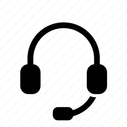 earphones, headphone, headphones, headset, mic, microphone, speaker icon