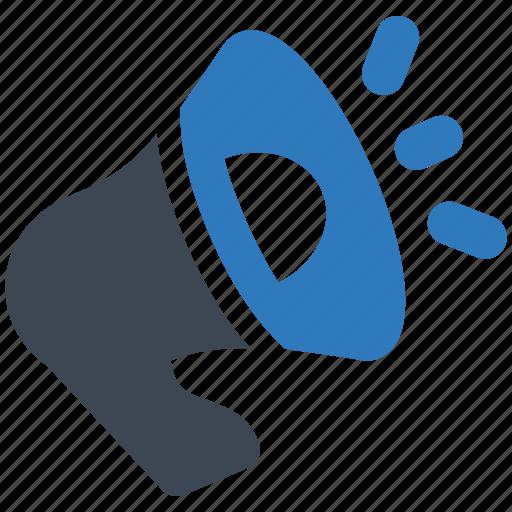 advertising, marketing, megaphone icon