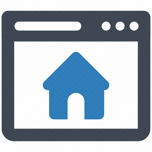 Home, page, web icon - Download on Iconfinder on Iconfinder