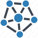 connections, network, structure icon