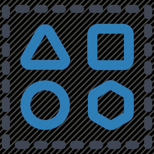 design, shape, shapes icon