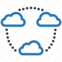 share, storage, cloud icon