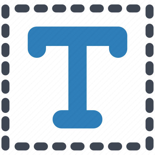 font, text, typography icon